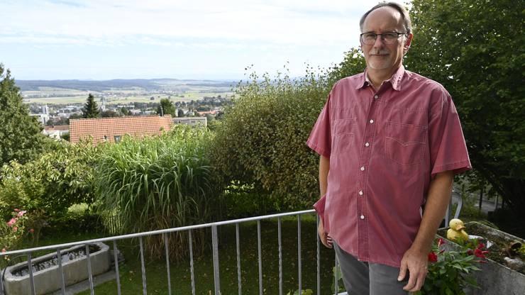 Stefan Haudenschild wohnt seit über 50 Jahren in diesem Quartier.