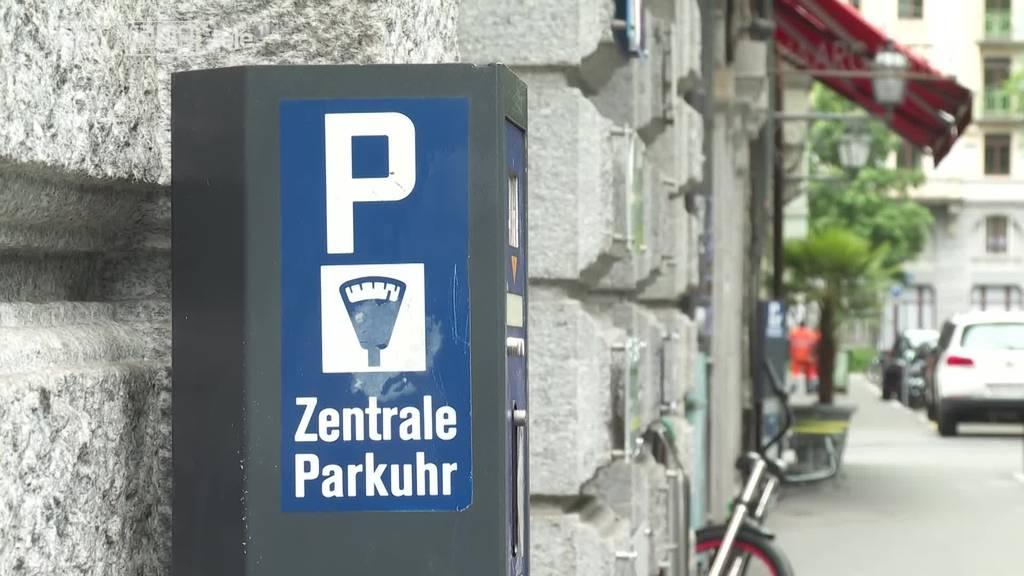 Wie viel soll das Parkieren in der Stadt Luzern kosten?