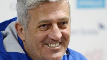 Vladimir Petkovic freut sich: Er hat die meisten seiner Spieler länger zur Verfügung