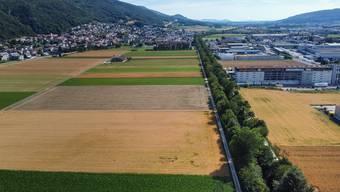 Dünnern-Kanal durch Egerkingen: Der Fluss verlor im Gäu ab den 1930er-Jahren durch die Korrektur seine Identität – der Mensch dagegen gewann Raum.