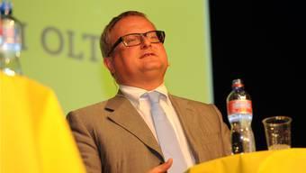 Werner de Schepper verzichtet auf eine Kandidatur für das Oltner Stadtpräsidium.