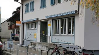 Die Poststelle in Herznach wirtschaftet alles andere als rentabel.