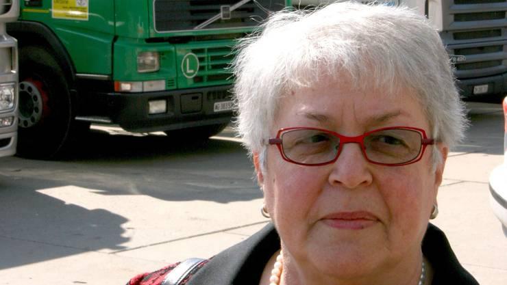 Marianne Piffaretti, die Präsidentin des Vereins Help-Point Sumy.