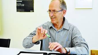 Bruno Affolter: Der Lehrer-Präsident ärgert sich über den Kanton.