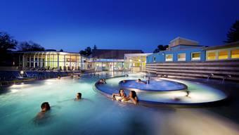 Hier sorgte das Verhalten des Angeklagten für Aufsehen bei Badegästen: Thermalbad Sole Uno in Rheinfelden.