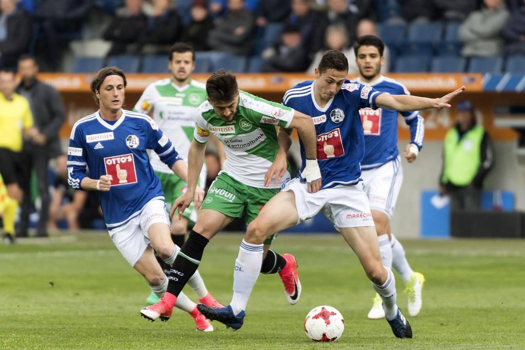 Der FC Luzern schlägt den FC St.Gallen 2:0 (© Keystone/Georgios Kefalas)