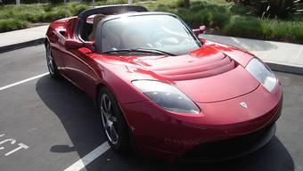 Teurer als ein Ferrari: Tesla-Roadster mit 290 PS.