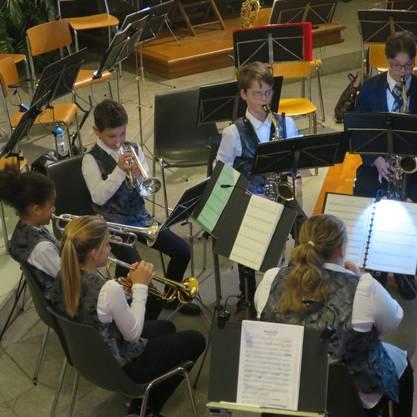 Die Musikgesellschaft Fislisbach beeindruckte das Publikum in der Kirche St. Agatha.
