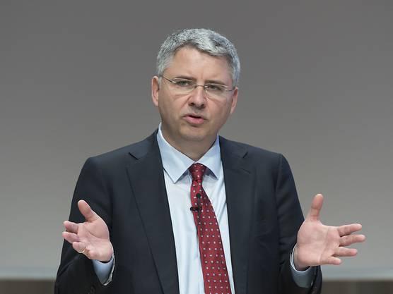 Severin Schwan: CEO Roche und Verwaltungsrat Credit Suisse