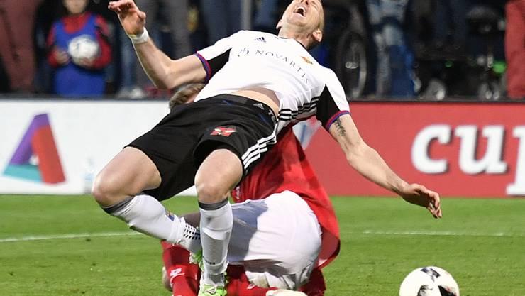 Die entscheidende Szene: Penalty oder nicht?