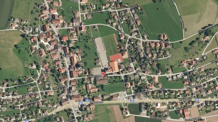 Laupersdorf aus der Vogelperspektive