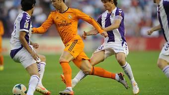 Cristiano Ronaldo schied gegen Valladolid verletzt aus