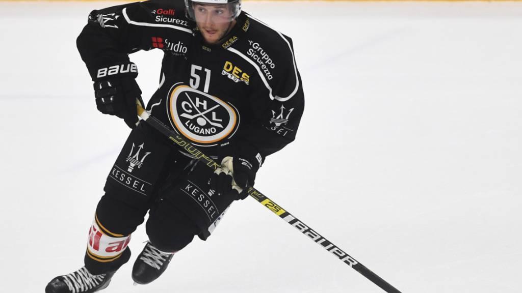 Wechselt nach nur zwei Einsätzen für Lugano in der National League in die KHL zu Dinamo Minsk: Der Kanadier Ryan Spooner