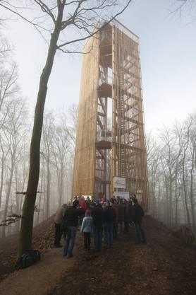 Der Cheisacherturm in Gansingen.