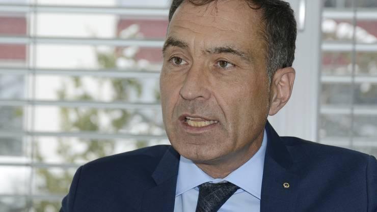Kämpfer für mehr Transparenz: Anwalt Rémy Wyssmann in seiner Oensinger Kanzlei.