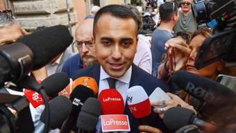 Luigi di Maio, der Chef der populistischen Fünf-Sterne-Bewegung wird neuer italienischer Aussenminister. (Archivbild)