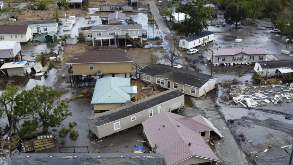 Der Hurrikan Ida hat im Süden der USA Milliardenschäden angerichtet. (Archivbild)