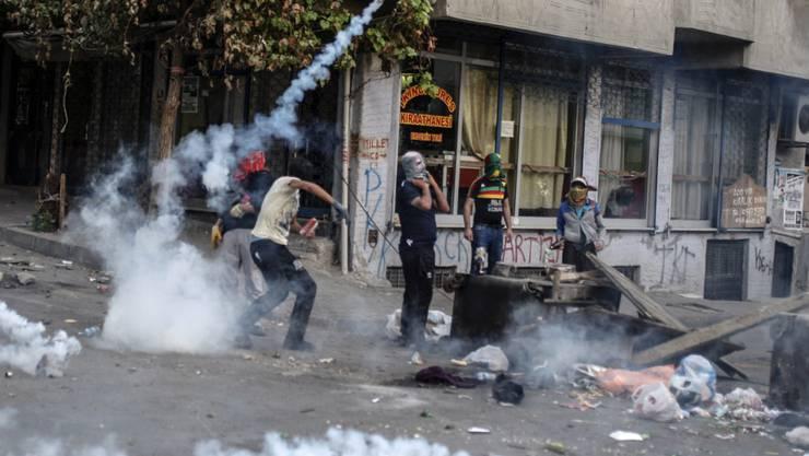 Proteste in Istanbul: Türkische Polizei nimmt 14 Personen fest (Archivbild)