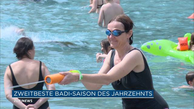 Zweitbeste Badesaison des Jahrzehnts