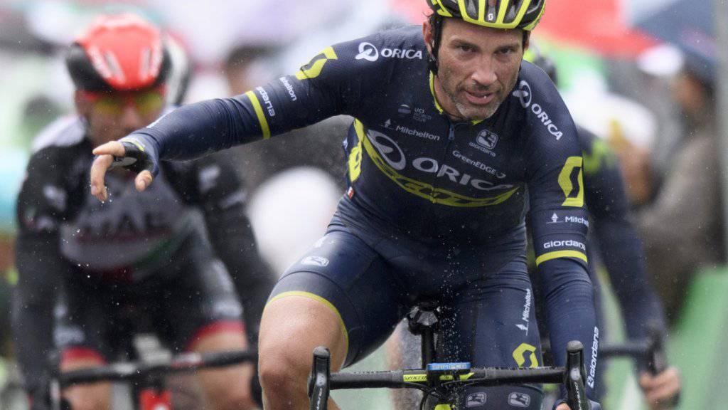 Neunte Teilnahme: Der Thurgauer Michael Albasini (36) steht auch in diesem Jahr wieder am Start der Tour de France