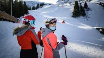 Weniger Skifahrer und der Ruf nach Hilfe: Auch in geöffneten Gebieten läuft nicht alles rund (Pizol, 31. Dezember 2020).