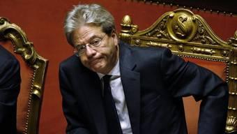 Die Lega will die Verabschiedung des Gesetzes verschleppen. Der Regierung von Paolo Gentiloni passt das gar nicht.