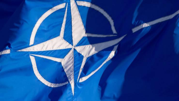 """ARCHIV - Die NATO will in Deutschland ein """"Space Center"""" aufbauen». Foto: Daniel Naupold/dpa"""