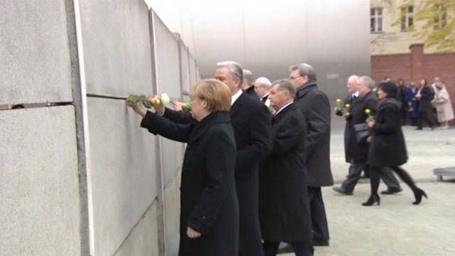 Fuenfundzwanzig Jahre Mauerfall
