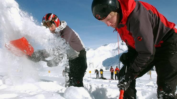 Schweizer Rettungskräfte trainieren den Ernstfall. (Themenbild)