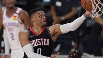 Russell Westbrook und die Houston Rockets gehen nach einer Saison bereits wieder getrennte Wege