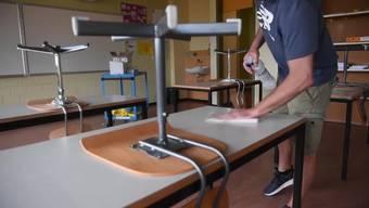 «Wir wollen keinen Schnellschuss für die drei letzten Schulwochen bis zu den Sommerferien», sagte Rohner. (Archivbild)
