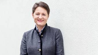 Franziska Roth, die neue Vorsteherin des Departementes Gesundheit und Soziales