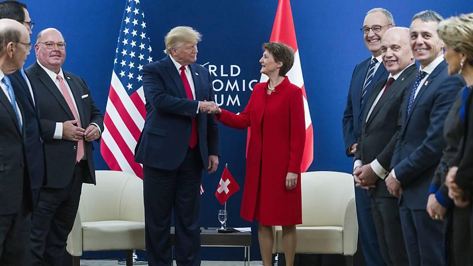 Bündner Regierung zieht positives Fazit zum Jubiläums-WEF