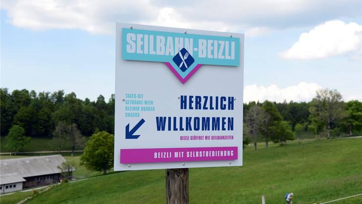 Federt die «Kurhaus-lose Zeit» ab: Das «Seilbahn-Beizli» der SWAG.