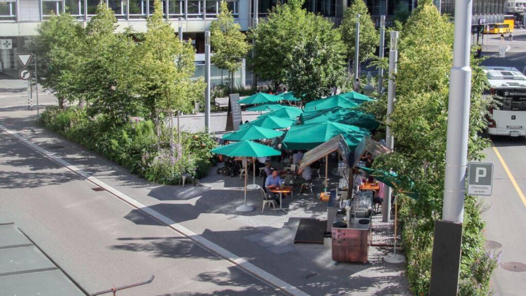 Läden, Gastro-Betrieben und Taxi-Unternehmen aus der Stadt St. Gallen sollen wegen des Lockdowns Gebühren erlassen werden.