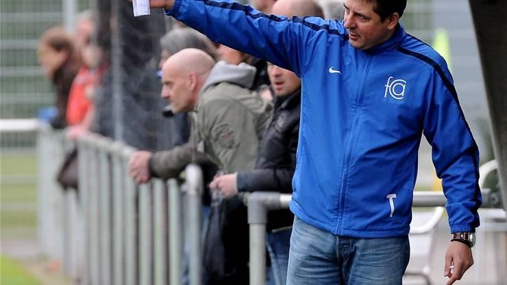 Coach Pavkovic sorgt für einen Top-Teamgeist beim FC Aesch.