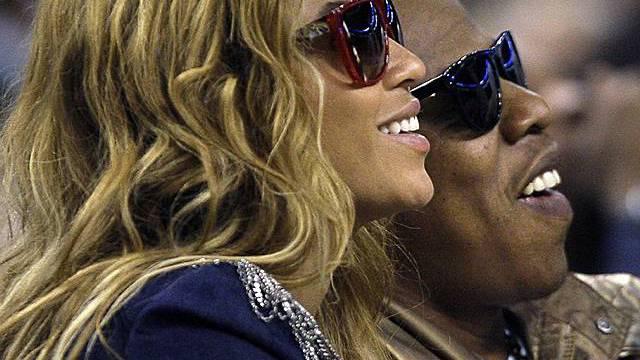 Beyoncé und Jay-Z beim Basketballspiel (Archiv)