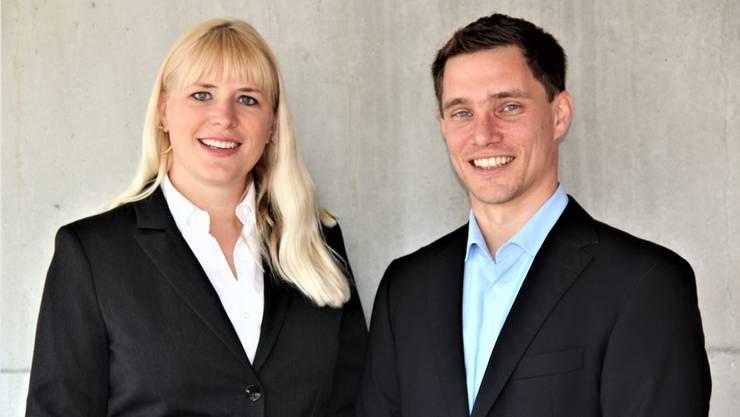 Stefanie Stirnemann (35) und Jonas Graf (36)