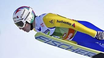 Simon Ammann flog in Zakopane nur gerade auf 104 Meter.