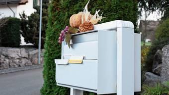 Die Steckschilder der Post werden durch eine Online-Lösung ersetzt.