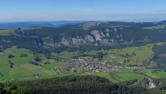 Die Gemeinde Welschenrohr ist umgeben von der Natur.