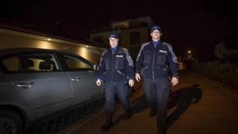 Transfer steht im Raum: Siedeln die vier Gemeindepolizisten von Hunzenschwil und Rupperswil bald zur Regionalpolizei Lenzburg über? (Archivbild)