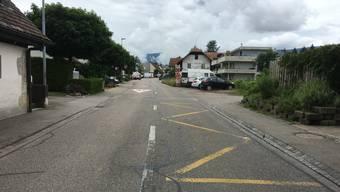 An der Bleichenbergstrasse soll das Trottoir ergänzt werden.