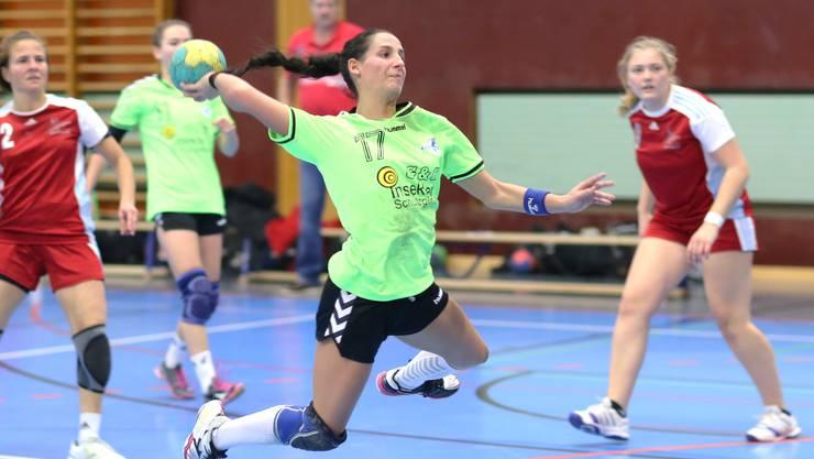 Leimentals Topskorerin Marie-Rose Bütikofer markierte 13 Tore aus 16 Versuchen.