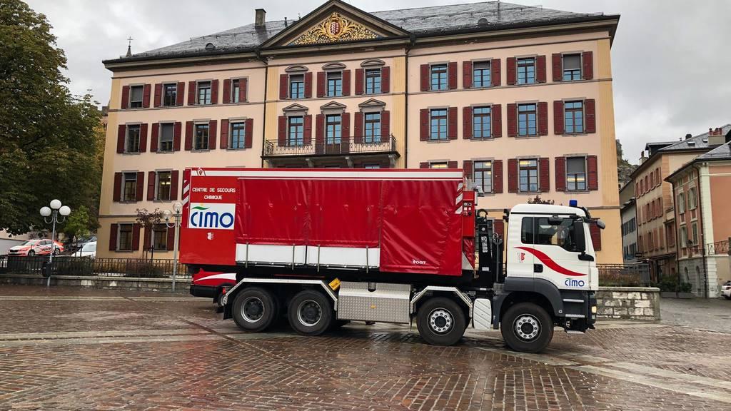 Pulver in Corona-Beschwerdebrief: Teile des Walliser Regierungsgebäudes evakuiert