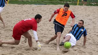 Beachsoccer Havana Shots gegen Inter Mailand