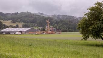 Das Mättenfeld, die Industriezone von Gontenschwil.