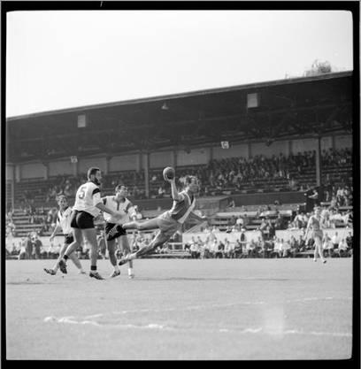 Im Sportmuseum entdeckt (9): GC Zürich gegen RTV Basel - Das Städteduell im Feldhandball