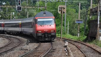 So lärmt es in Baden nehmen der Bahn