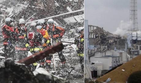 Erdbeben, Tsunami, Atomkatastrophe und jetzt noch starke Schneefälle.